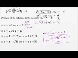 solving quadratic equations harder