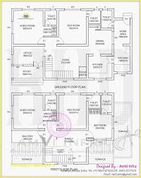 luxury two floor house plans in kerala