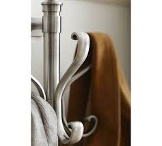 Pottery Barn Tree Coat Rack WallMount Coat Rack Antique Silver finish Wall mounted coat rack 58