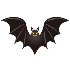 ハロウィン用蝙蝠こうもりのイラスト素材 商用可能な無料フリー