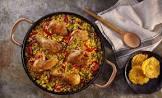 arroz con pollo  chicken and rice