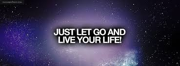 Just Let Go Quote Facebook Cover - FBCoverStreet.com