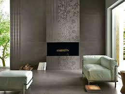 porcelain tile fireplace decorative textured faux wood surround hearth