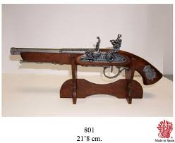 Handgun Display Stand Wooden Pistol Display Rack Holder Handgun Colonial Antique Stand 48