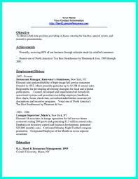 Mcdonalds Manager Resume Sample Food Service Cover Assistant