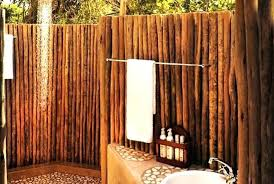 N Bamboo Outdoor Shower Showers Top Easy And Attractive  Projects Using Home Create An