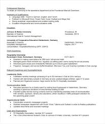 Internship Resume Template Microsoft Word Interesting Unique Internship Resume Template Microsoft Word Computer Science