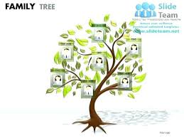 Tree Template Unique Family In Templates Free Download T For