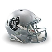 Details About Nfl Oakland Raiders Speed Authentic Full Size Helmet Mens Fanatics