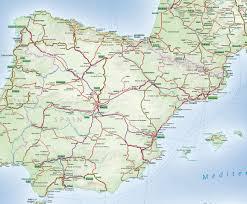 Spain Train Map - ACP Rail