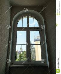 Modern Window Protector Design Modern Plastic Windows In A Sophisticated Design Stock Image