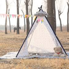 Tarp Teepee Design Us 24 58 34 Off Baby Tents Portable Foldable Game Teepee Cartoon Cute Indian Childrens Tent Outdoor Kids Play House Canvas Cotton Triangle Tipi In