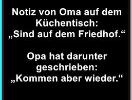 Notiz Von Oma Auf Dem Küchentisch Lustige Spruche