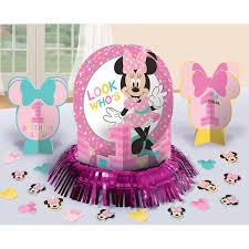 1st minnie mouse table decorating kit 23 piece centerpiece party supplies 13051679064