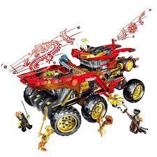 CÓ SẴN Lắp ráp LEGO Ninjago 70677 PRCK 61029 Xe Tăng Sa Mạc Chiến Đấu của  các Ninja Land Bounty