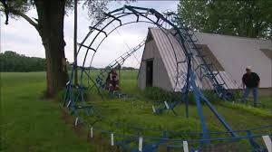 Indiana Man Turns Backyard Into MiniRoller Coaster Park  AOL FinanceBackyard Roller Coasters For Sale