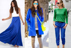 what colors go with Cobalt Blue