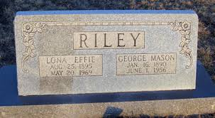 Lona Effie Ford Riley (1895-1969) - Find A Grave Memorial