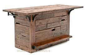 rustic barn wood bar reclaimed wood custom made old rustic barn wood bar barn board coffee