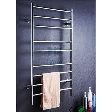 Bathroom accessory ladder wall mounted heated towel rail towel