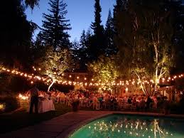 outdoor lighting ideas for parties. Perfect Parties Decorative Outdoor String Lighting Ideas With Black Cord For Trees  Summer Party Theme Throughout Parties A