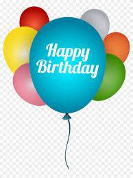 Happy Birthday Background Design Png Happy Birthday Balloons Png Clip Art Image Birthday