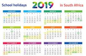 Printable Calendar Pdf Impressive PRINT IT SA's School Holidays 48 Calendar Parent48