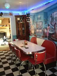 Retro Kitchen Furniture Retro 50s Diner Furniture Kitchen Table Booth Best Kitchen Ideas