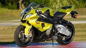 Yellow BMW Bike