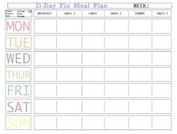Printable Meal Planner With Snacks Download Them Or Print