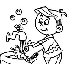 Small Picture Hand Washing For Kids Coloring Pages Free Coloring Page Hand