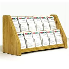 12 pocket vertical business card holder matching trim