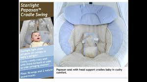 Baby Swing With Light Canopy Fisher Price Papasan Cradle Swing Starlight Baby Swing