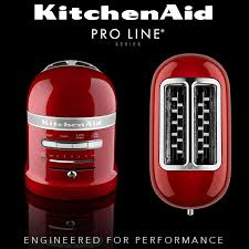 kitchenaid artisan 2 slot toaster pro line
