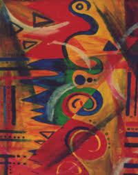 africa painting african abstract by aldonia bailey