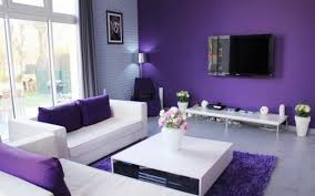 Small Picture Home Design And Decoration Color Your Living Room Purple To Get