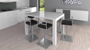 Table Haute Avec Tabouret Pour Cuisine Design En Image
