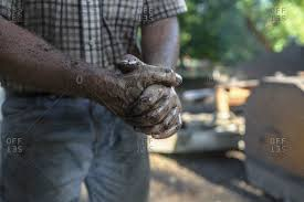 greasy dirty hands stock photos offset