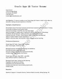 Manual Testing Resume For 3 Years List Of Qa Manual Tester Sample