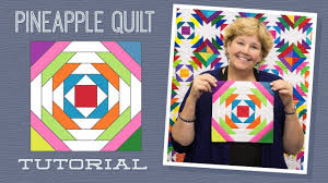 Make a Pineapple Quilt with Jenny! - YouTube & Make a Pineapple Quilt with Jenny! Adamdwight.com