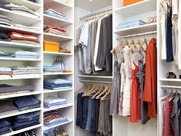 Different styles to organize your closet
