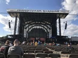Hershey Park Stadium Section B