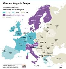 Global Minimum Wage Chart These Countries Have The Highest Minimum Wages World