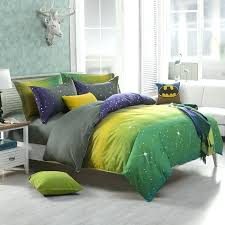 green and yellow duvet covers full queen king duvet cover bedding fluorescence green yellow gray lavender