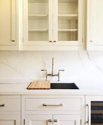 Kitchen Sink with Sliding Chopping Board