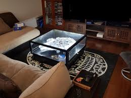 lego display case coffee table for star