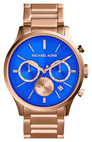 michael kors bailey chronograph bracelet watch 44mm nordstrom