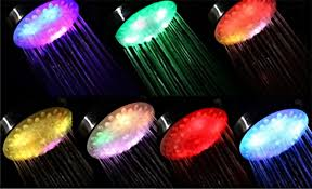 Led Duschkopf Duschbrause Regendusche Raindance Regenbrause Shower Head Xxl Handbrause Brausekopf Mit Automatischem 7 Farbigem Lichtwechsel