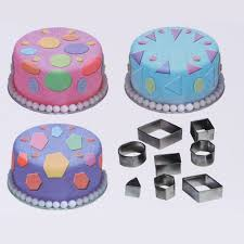 24pcs Stainless Steel Cake Fondant Cookie Biscuit Candy Mould Mold