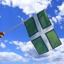 Devon Hand Waving Flag | Buy Devon Hand Flag | The Flag Shop